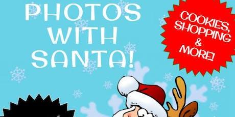 Photos with Santa at Eddyville Mall tickets