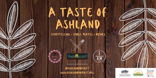 A Taste of Ashland | Storytelling, Small Plates, Drinks