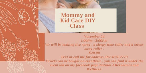 Mommy and Kid Care DIY