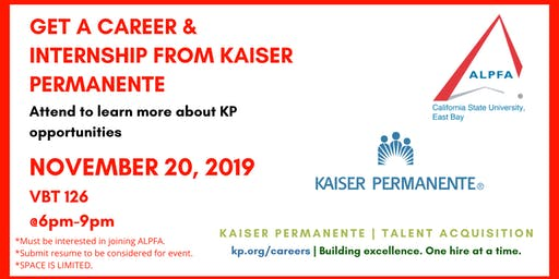 Kaiser Permanente Info Session
