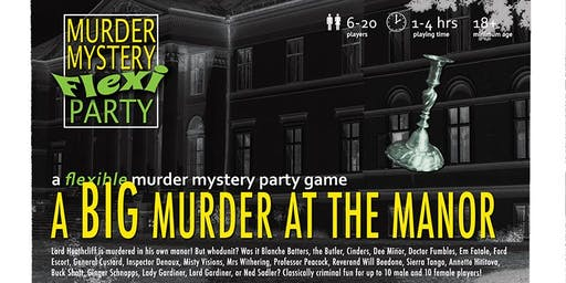 Murder Mystery at the Manor