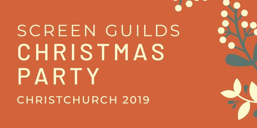 2019 Screen Guilds Christmas Party - Christchurch