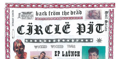 CIRCLE PIT RE-UNION/EP LAUNCH with CIVIC & V tickets