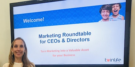 Marketing Roundtable for CEOs & Directors tickets