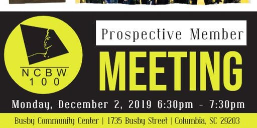Prospective Member Interest Meeting