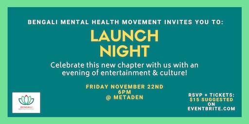 Bengali Mental Health Movement Launch Event