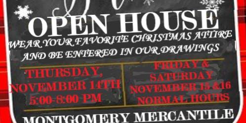 Montgomery Mercantile Christmas Open House