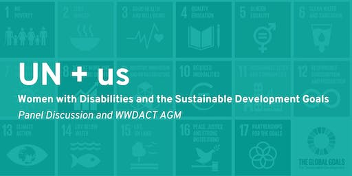 UN + us: Women with Disabilities on the Sustainable Development Goals