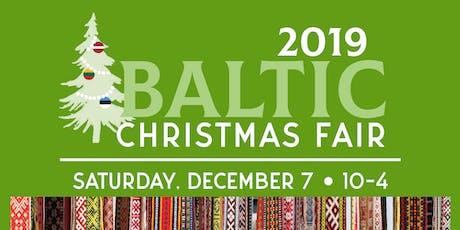Baltic Christmas Fair tickets