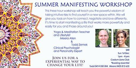 Summer Manifesting Workshop tickets