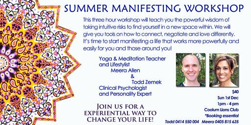 Summer Manifesting Workshop