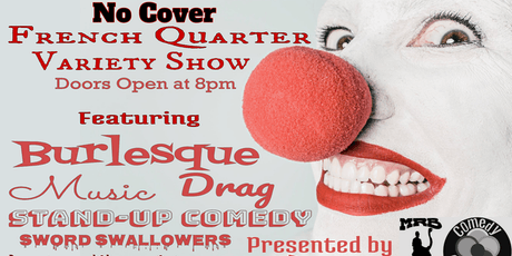 French Quarter Variety show at MRB tickets