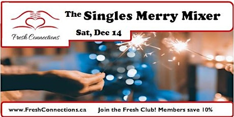 The Singles Merry Mixer tickets