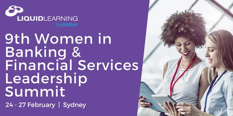 9th Women in Banking & Financial Services Leadership Summit tickets