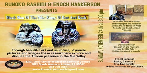 Black Man of the Nile - Kings of KMT and Kush