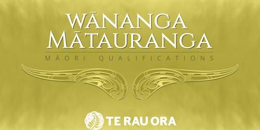 Mātauranga Māori Qualifications Consultation Hui Porirua