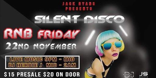 Jacks silent disco and R&B night