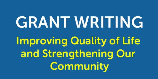 Grant Writing Workshop!