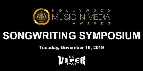SONGWRITING SYMPOSIUM tickets