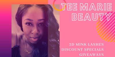 Sip & Shop w/ Tee Marie Beauty Mink Lashes