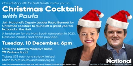 Christmas Cocktails with Paula tickets