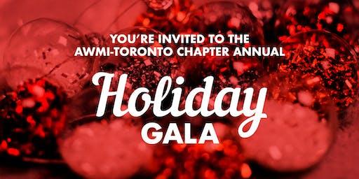 AWMI Toronto Chapter Holiday Gala 2019