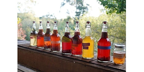 Kombucha & Kvass! Learn to Ferment Your Own Probiotic Beverages (04-23-2020 starts at 7:00 PM) tickets