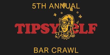 5th Annual Tipsy Elf Bar Crawl tickets