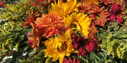 Thanksgiving Centerpieces with Moonstone Crossing and Moonstone In Bloom