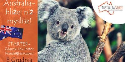 Australia: bliżej, niż myślisz! Wyjedź do Australii ze Starter Gdańsk