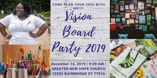 Vision Board Party 2019