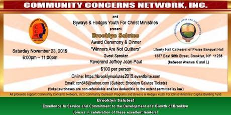 Brooklyn Salutes Award Ceremony & Dinner tickets
