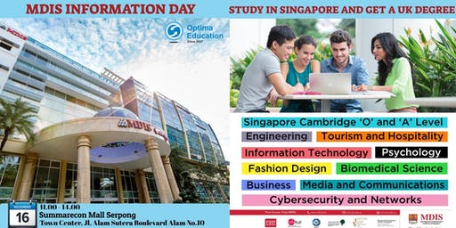 MDIS INFORMATION & APPLICATION DAY  2019
