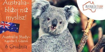 Australia: bliżej niż myślisz! Konsultacje indywidualne Gdańsk