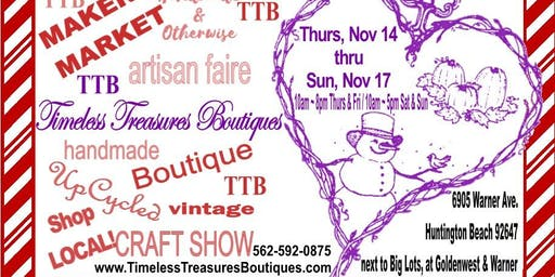 Timeless Treasures Boutiques Holiday Pop Up!