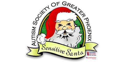 2019 Sensitive Santa Event hosted by the Autism Society of Greater Phoenix