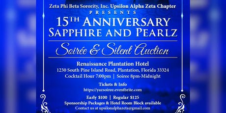 Sapphire and PearlZ Soiree tickets