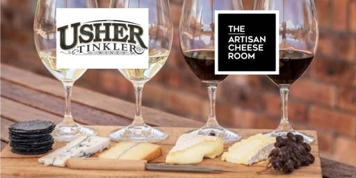 Cheese & Wine Masterclass - Usher Tinkler & The Artisan Cheese Room