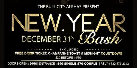2020 New Year's Eve Bash hosted by the Bull City Alphas tickets
