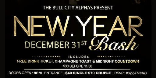 2020 New Year's Eve Bash hosted by the Bull City Alphas