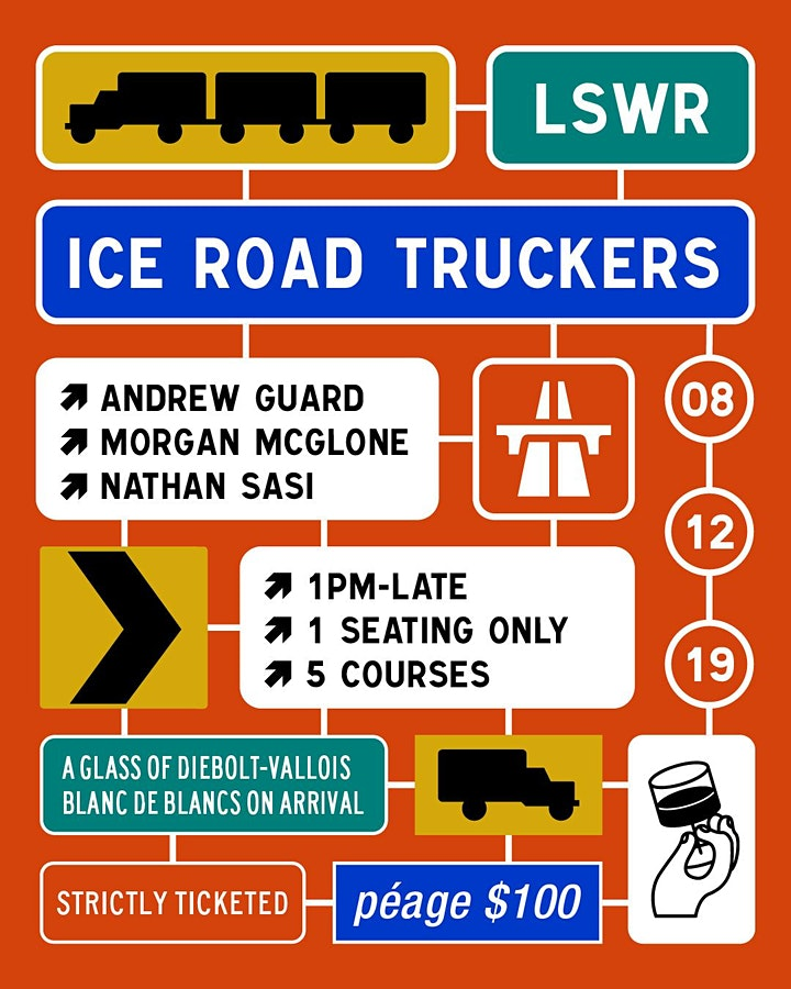 ICE ROAD TRUCKERS X ANDREW GUARD X MORGAN MCGLONE X NATHAN SASI image