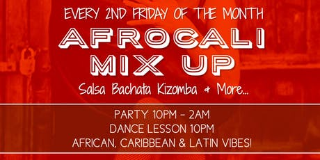 Afro-Latin Mix Up: Dance Lesson & Party! tickets