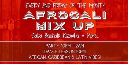 Afro-Latin Mix Up: Dance Lesson & Party!
