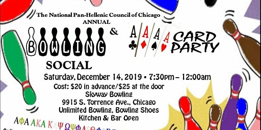 NPHC  Of Chicago  Bowling  Social and Card Party