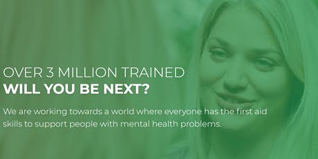 Become an accredited Mental Health First Aider! (2 Day Course) tickets
