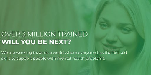 Become an accredited Mental Health First Aider! (2 Day Course)