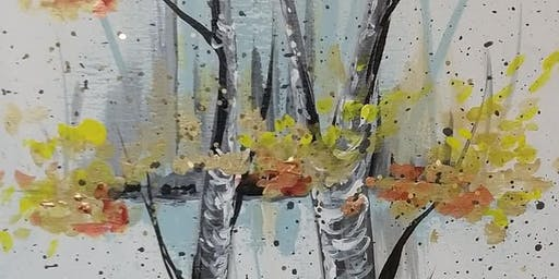 Paint and Sip Birch at the Jaffa Center