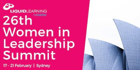 26th Women in Leadership Summit tickets