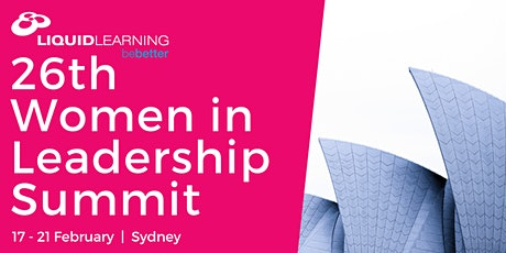 26th Women in Leadership Summit tickets