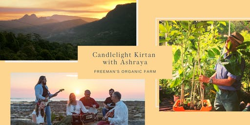 Candlelight Kirtan at Freeman's Organic Farm